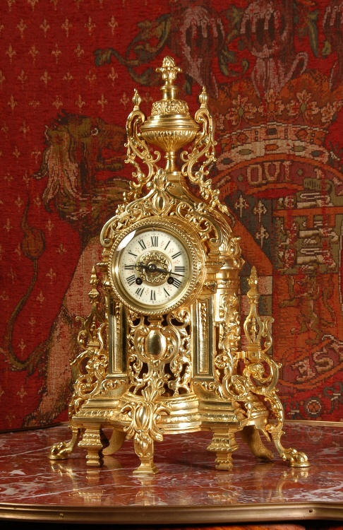 Antique ornate clock...