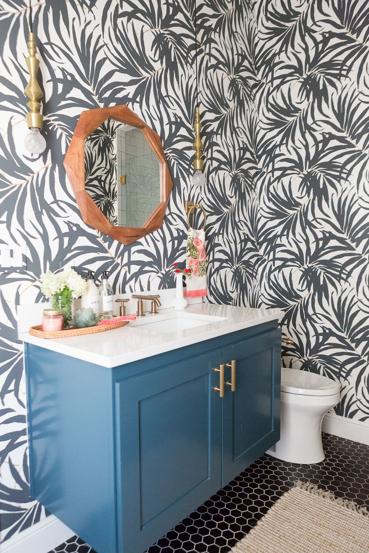 Home decorating diy projects pool bathroom reveal styled for Pool house with bathroom cost