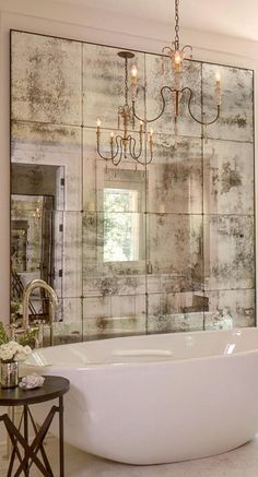 Mirrors don't only bring depth and space to an interior, it also reflects your...
