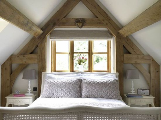 Attic Bedrooms You'll Want to Wake Up In - Cottage and Farmhouse Style