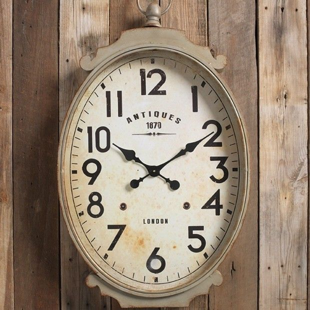 Clocks Decor Objects Large Oval Wall Clock Object Your Daily Dose Of Best Home Decorating Ideas Interior Design Inspiration