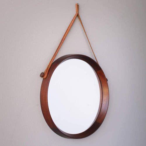 Framed Mirror by Uno & Osten Kristiansson...