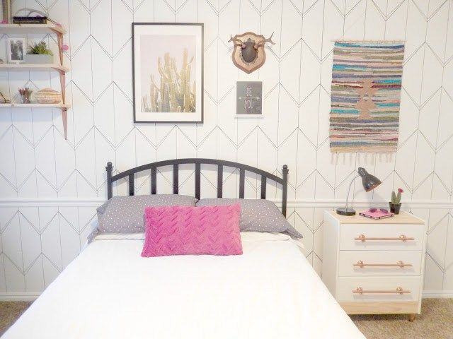 Een Moderne Makeover : Best decor hacks : check out this awesome teen bedroom makeover