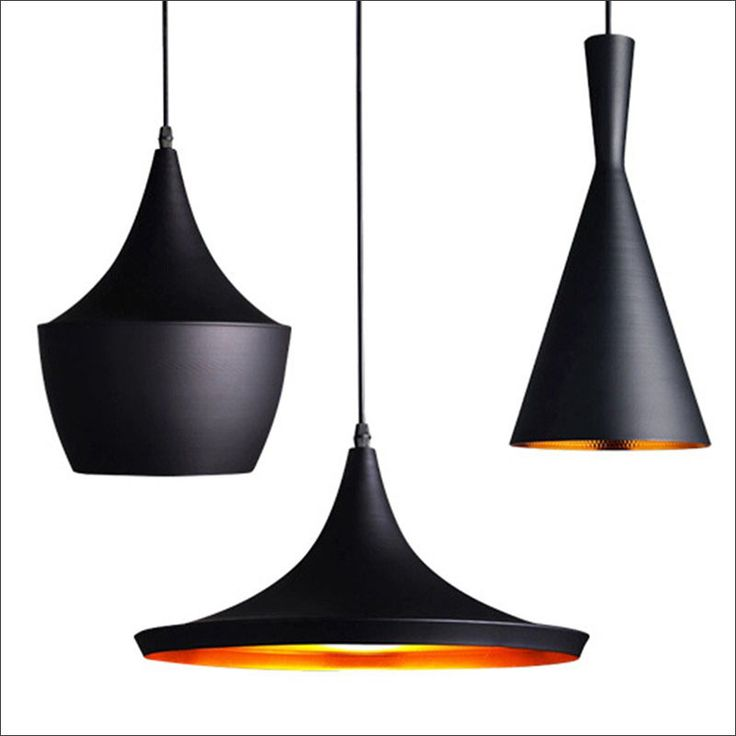 11 Ways To Introduce Black Into Your Kitchen // Hang black pendant lights above ...