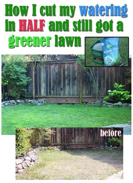 How I cut back my lawn watering by 60% during the California drought and was act...