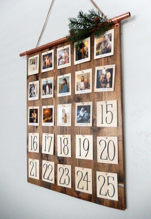 Advent Calendar Design Your Own : Best decor hacks make your own christ centered advent