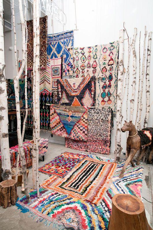 you say rug, i say Boucherouite.