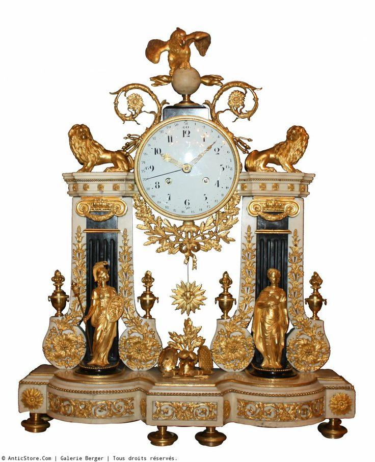 Antique Clocks A Large Louis Xvi Quot Portique Quot Ormolu And