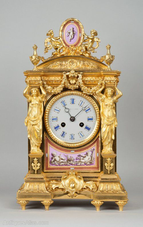 Antiques Atlas - Howell And James Mantel Clock More...