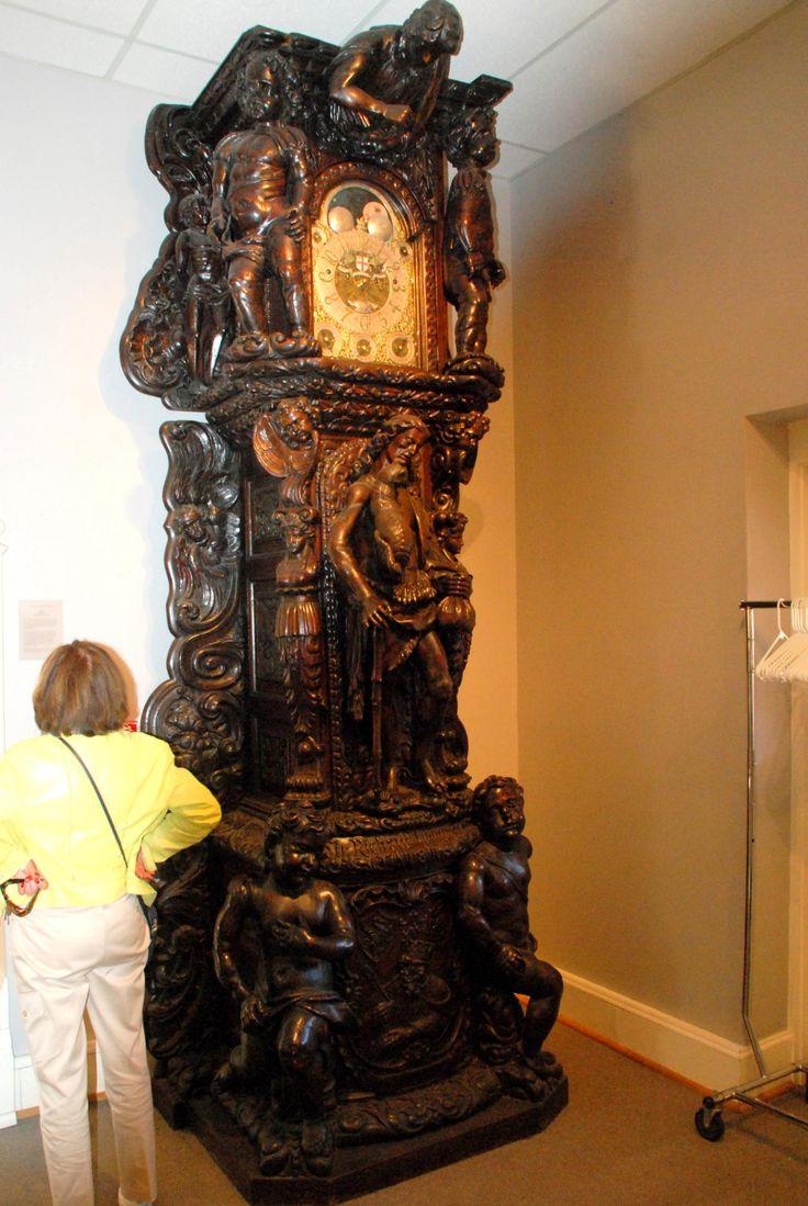 Lightner Museum Ornate Grandfather Clock, St Augustine, FL...