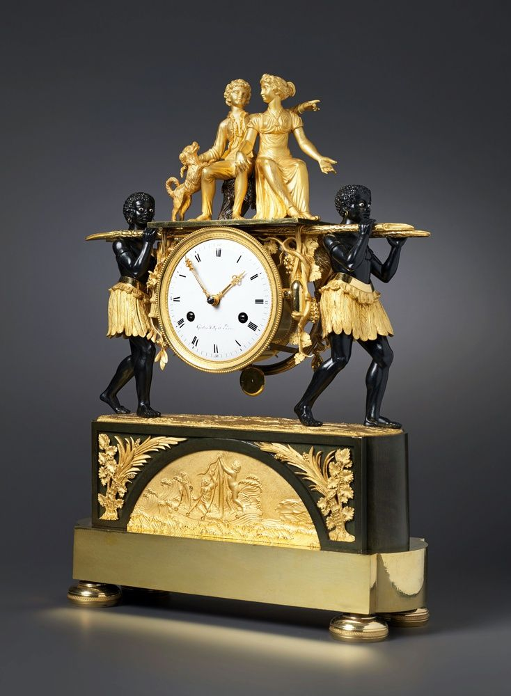 Antique Clocks Pierre Francois Gaston Jolly An Empire