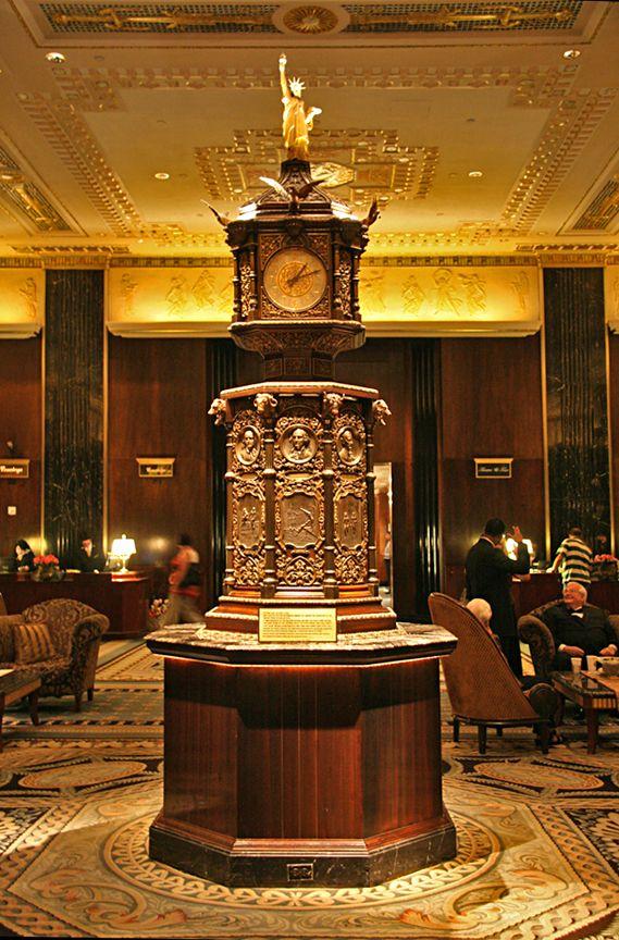 Antique Clocks The Waldorf Astoria Clock In New York