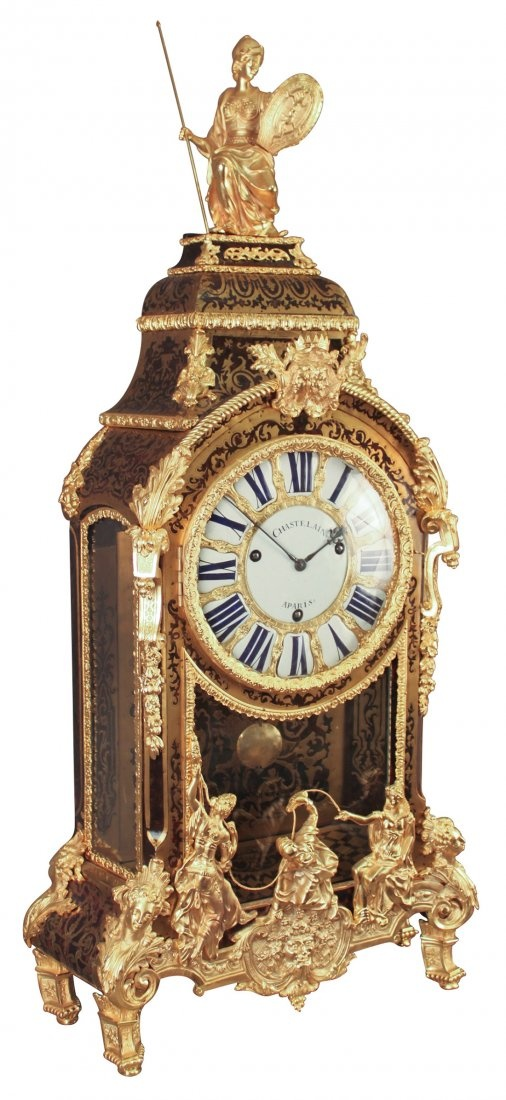 Antique clocks a rare and important french boulle mantle clock decor object your daily - Antique clock designs for your home ...