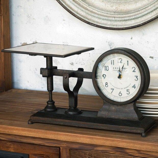 Decorative Hardware Scale Clock...