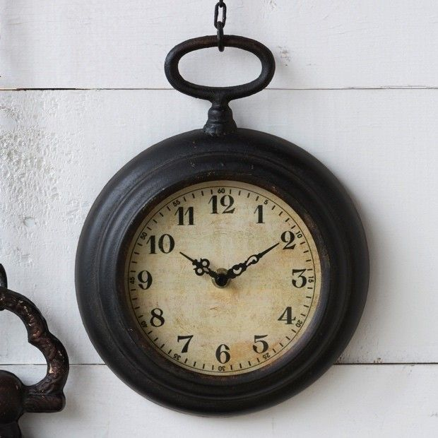 Hanging Pocket Wall Clock...