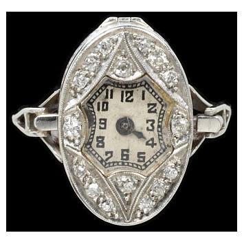 Art Deco Ring, c. 1925, London...