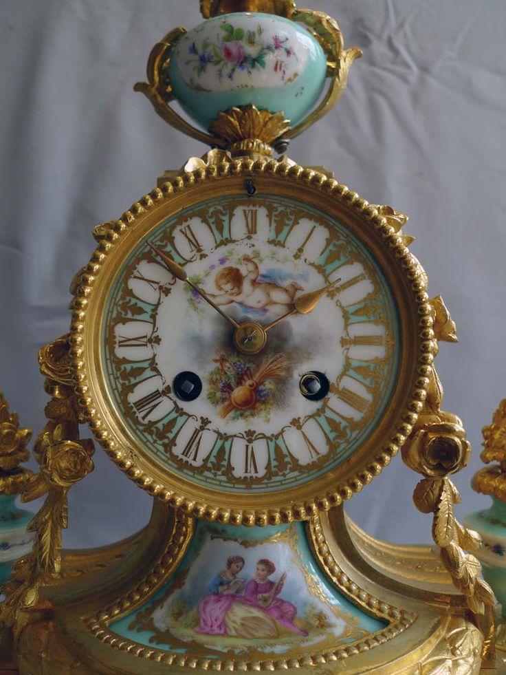 Clocks vintage time pieces french antique c1880 for Antique decoration pieces
