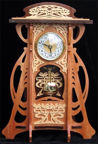 Clocks Amp Vintage Time Pieces Glasgow Clock Scroll Saw