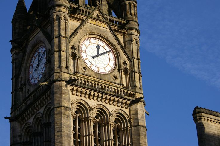 Clocks & Vintage Time Pieces: Gothic Revival - Manchester Town Hall ...