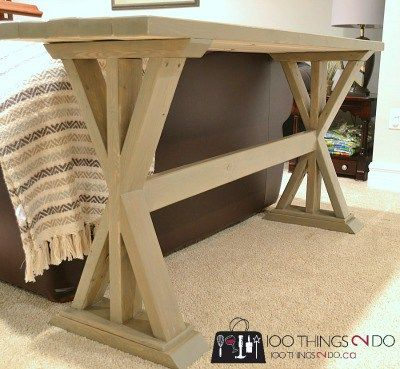 Decor Diy Inspiration Diy Entryway Table Diy Sofa Table