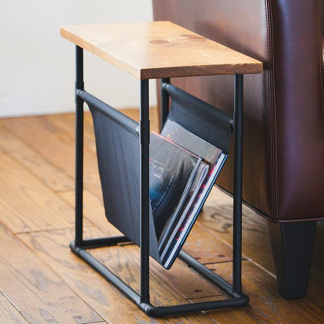 DIY Side Table and Magazine Rack | eHow Home | eHow...