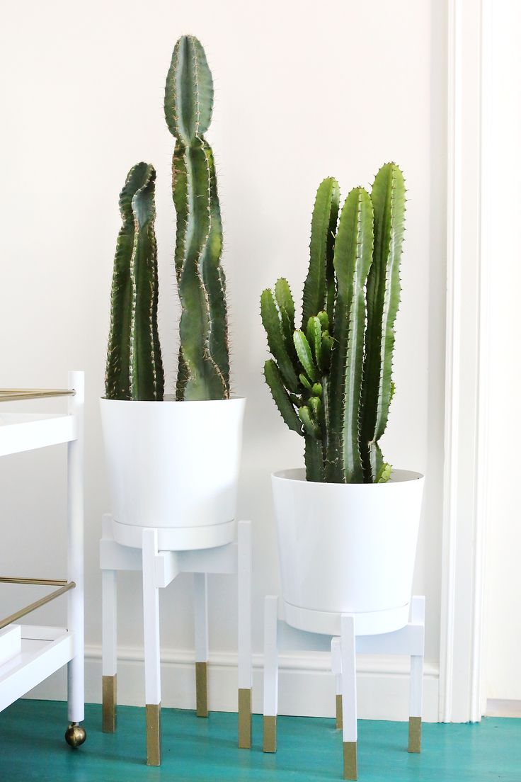 Decor Diy Inspiration Mid Century Modern Planter With
