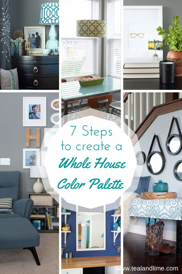 Decor Hacks 7 Steps To Create Your Whole House Color Palette Worksheet Awesome Decor