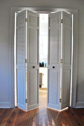 Decor Hacks Bi Fold Doors To Bathroom Space Saver And Newer