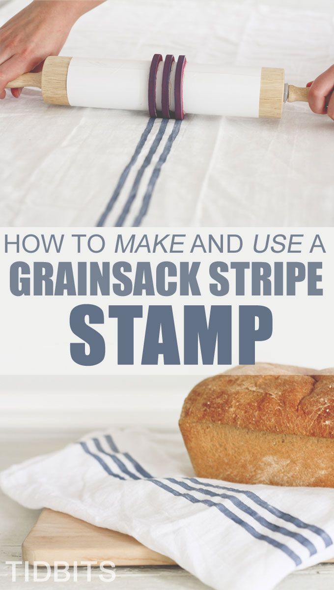 Grainsack stripe, stamp, textiles...
