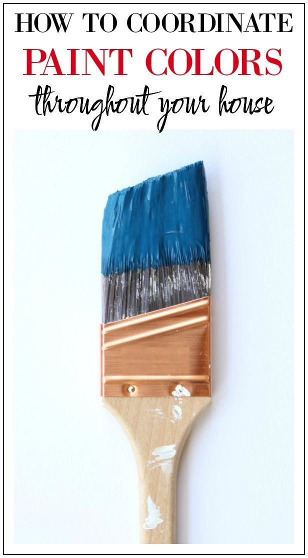 Decor Hacks How To Coordinate Paint Colors Throughout