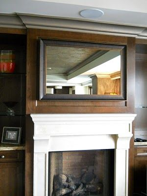 Decor Hacks How To Frame Your Flat Screen Tv This Has A