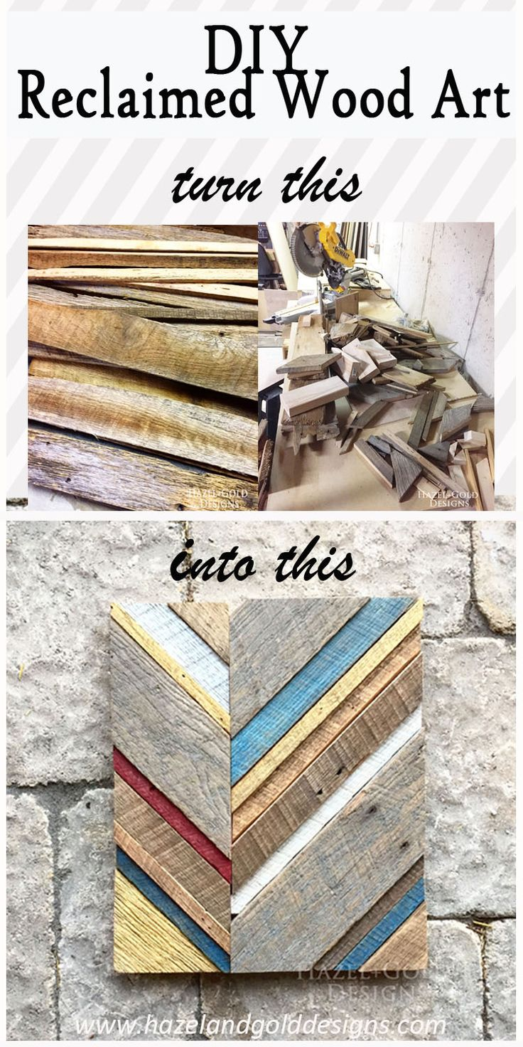 Decor hacks learn to make this awesome reclaimed barn wood art learn to make this awesome reclaimed barn wood art diy wood art do it solutioingenieria Gallery