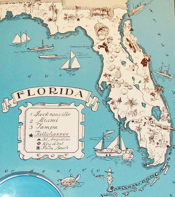 Old Florida Maps.Decor Hacks Reserved Florida And England Maps Decor Object