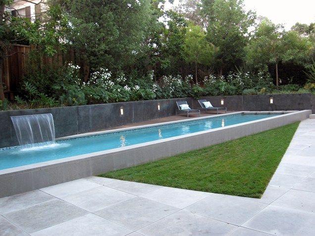 Decor - Pools : Modern Lap Pool, Raised Lap Pool Swimming Pool ...