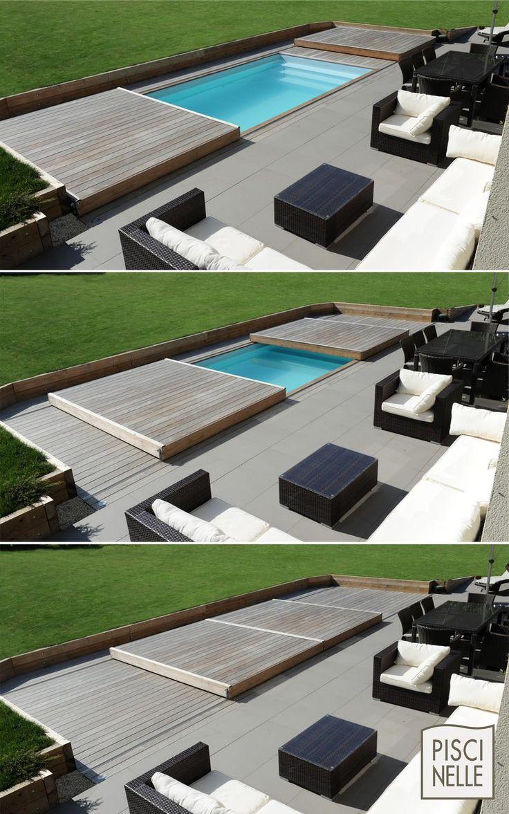 Rolling-Deck Piscinelle : passez de piscine à terrasse en un clin d'œil ! - ...