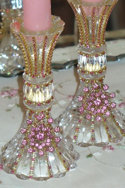 apositivelybeautifulblog:    (via MY PINK CHRISTMAS / Beautiful Bejeweled Crysta...