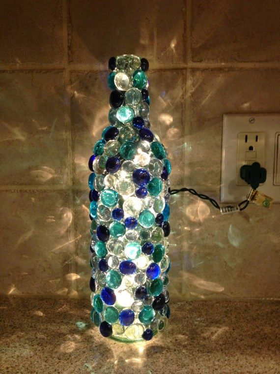 Empty Wine Bottle Decoration Ideas Fascinating Decorative Bottles Recycle Reuse Renew Mother Earth Projects DIY