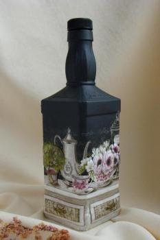 Decorative Bottles What Looks Like A Jack Daniels Bottle