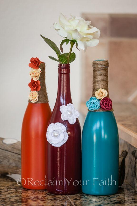 Wine Bottles Decor