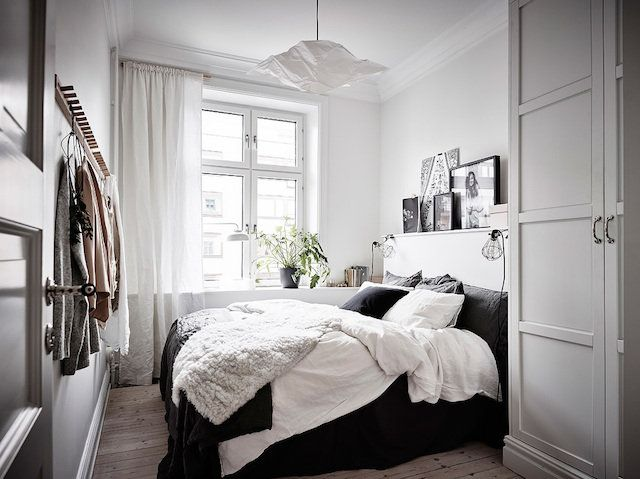 A serene Swedish home in soft, muted tones...