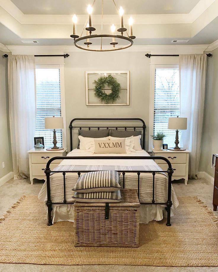 Farmhouse bedroom....