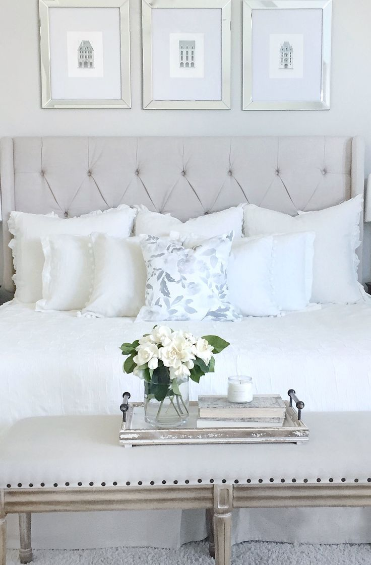 Furniture - Bedrooms : Lovely, white bedroom.... - Decor Object ...