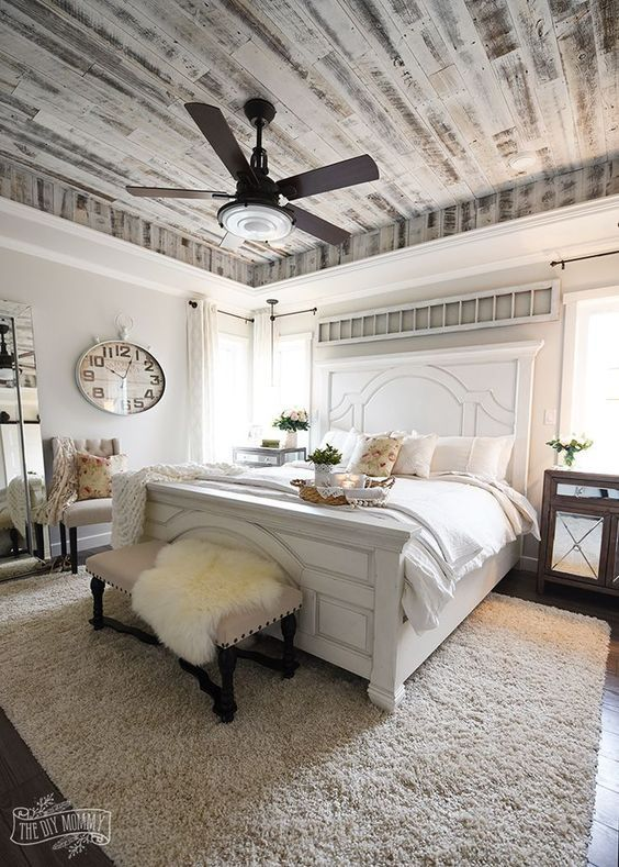 Furniture - Bedrooms : Modern French Country Farmhouse ...