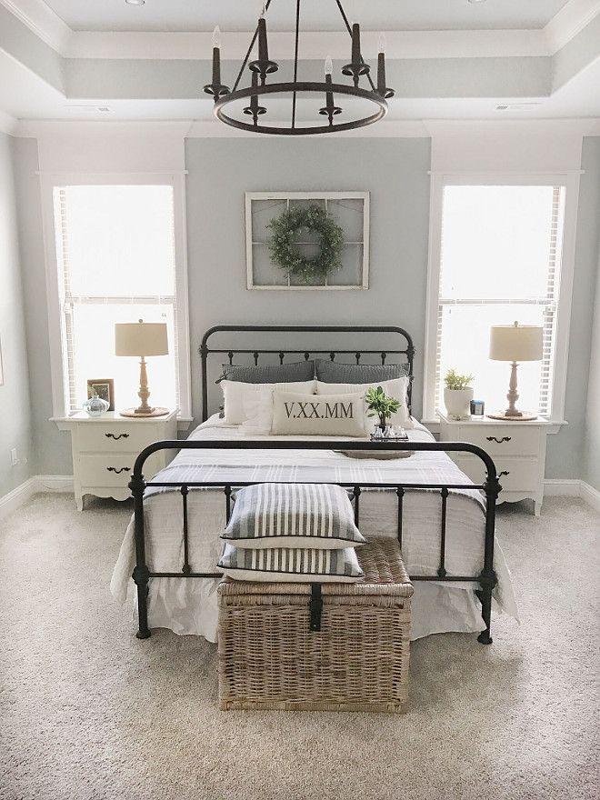 Genial Furniture U2013 Bedrooms : Paint Color Is Sherwin Williams SW 7057 Silver  Strandu2026