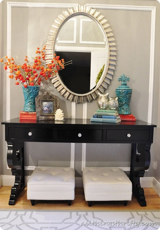 Furniture - Entryway : 25 Ways to Decorate a Console Table ...