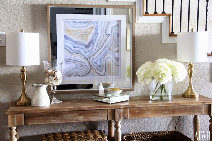 Around the Watts House: Finding My Style in the New Year (Entryway)
