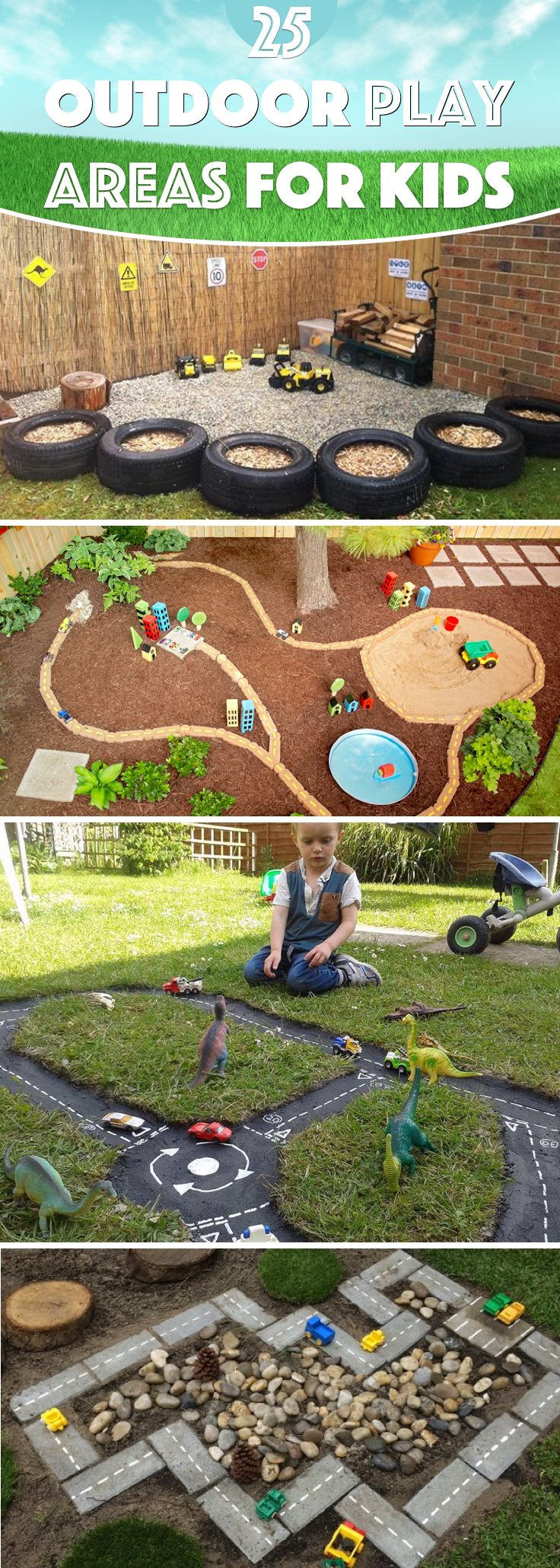 25 Outdoor Play Areas For Kids Transforming Regular Backyards Into Playtime Para...