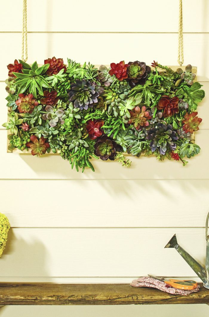 Gardening And Outdoor Decor Register For The Dih Vertical Garden Succulent Workshop At Home
