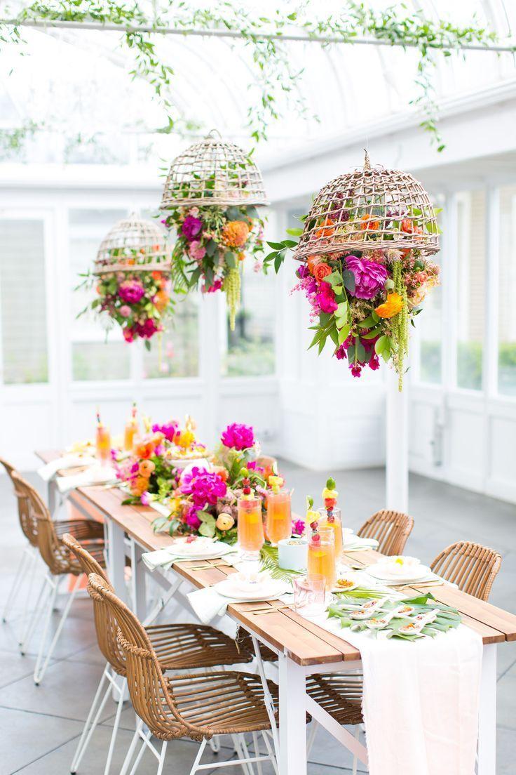 Home Decor DIY\'s : Our tropical garden party and DIY fruit necklaces ...