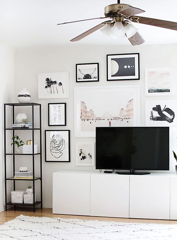 Home Decor - Living Room : 35 Tidy And Stylish IKEA Besta ...